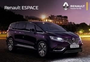 Новий Рено Эспэйс чекає на Вас в залі Арма Motors!