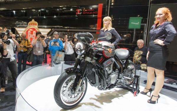 Intermot 2016: байк Horex VR6 HL 2017