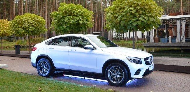 Mercedes-Benz GLC Coupe дебютировал в Украине