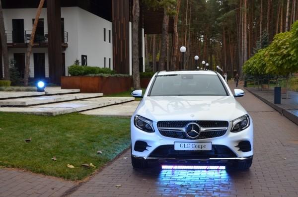Мерседес-Бенц GLC Купе появился на Украине