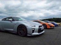 Nissan GT-R, McLaren 570S, Porsche 911 � Audi R8 �������� � �����