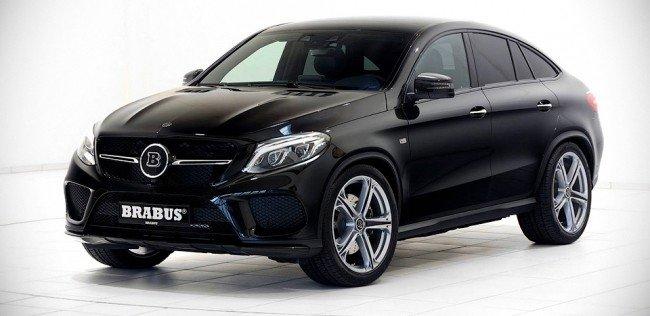 Brabus ускорил купе-кроссовер Mercedes-Benz GLE