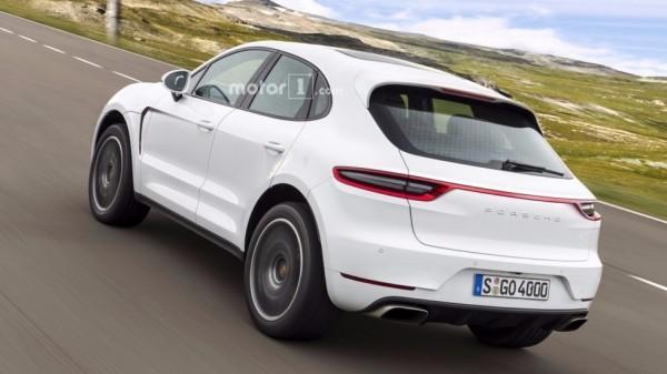 Порше Majun: каким будет свежий внедорожник Porsche