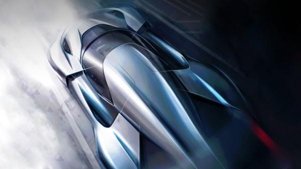 Размещен новый тизер электрического гиперкара NextEV