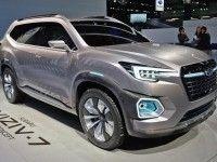 Subaru построила прототип семиместного внедорожника