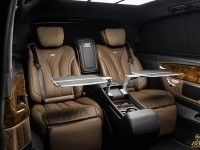 Украинцы сделали роскошный тюнинг салона Mercedes-Benz V-class