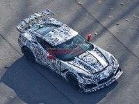 Шпионы сфотографировали хардкорный вариант Chevrolet Corvette