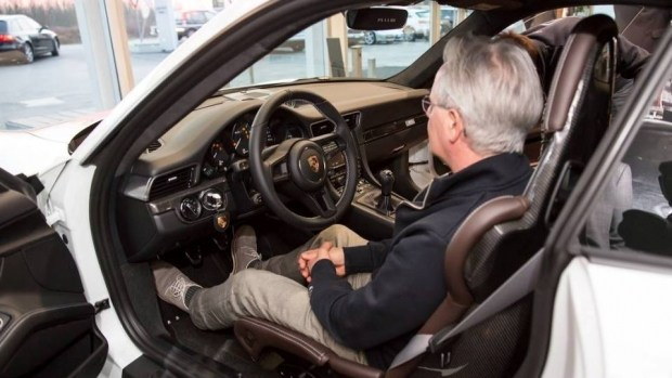 Горацио Пагани приобрел самый простой Порше 911