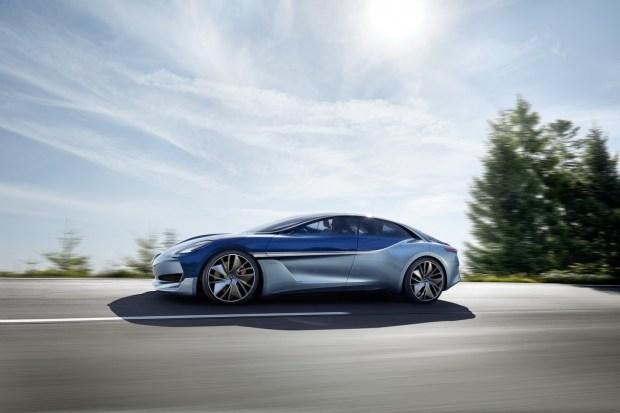 Foton и Borgward показали во Франкфурте новый электрокар