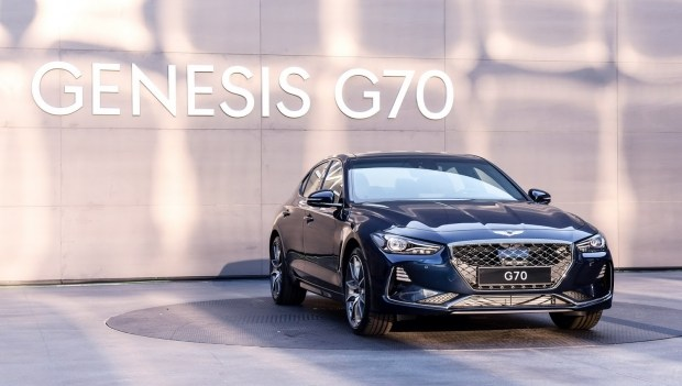 Genesis назвал сроки появления нового седана G70 в РФ