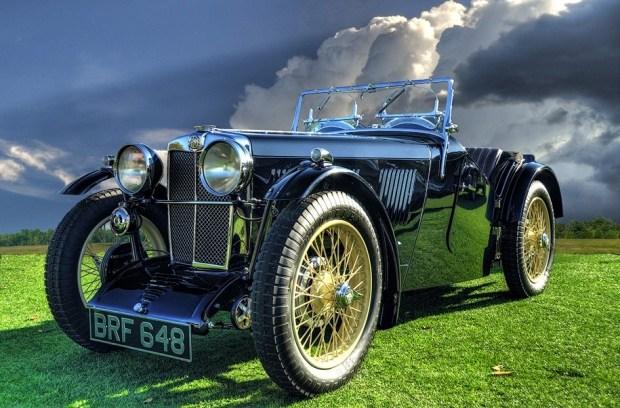 Так выглядел MG J2 1932 года. Фото с сайта adamsviews.net