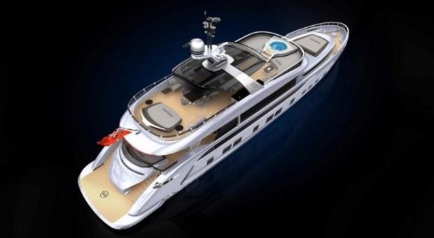 Porsche презентовала роскошную яхту