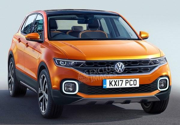VW представит собственный самый небольшой кроссовер в будущем году