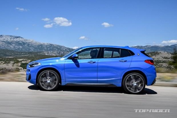 Кросс-купе БМВ X2 рассекретили доофициальной премьеры