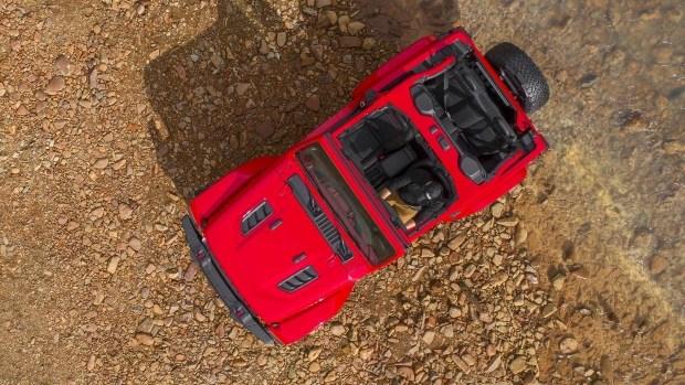 Компания Jeep показала обновленный тип джипа Wrangler