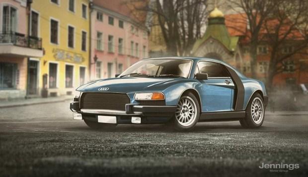 Audi R8 Retro Concept