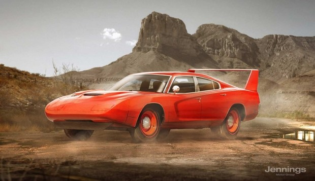 Dodge Charger Retro Concept