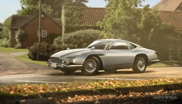 Aston Martin DB11 Retro Concept