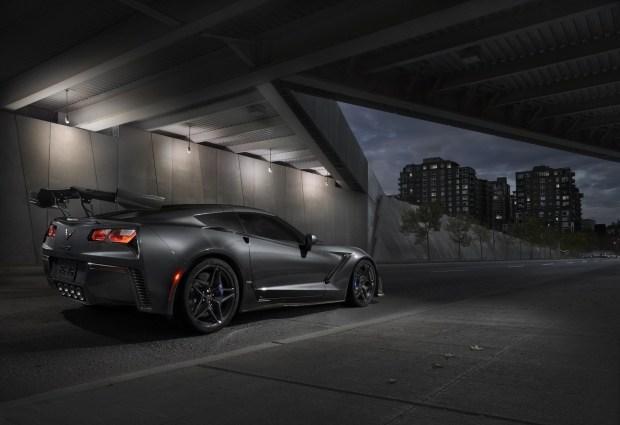 ВДубае представили 755-сильный Шевроле  Corvette ZR1
