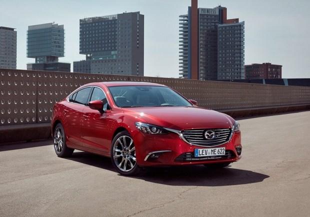 Mazda6 текущего поколения