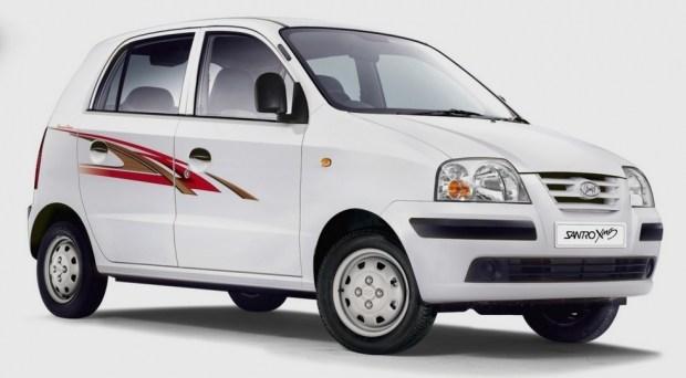 На фото: Hyundai Santro. В Индии модель продавали в 1998-2014 гг. В некоторых странах хэтч был известен под именем Atos