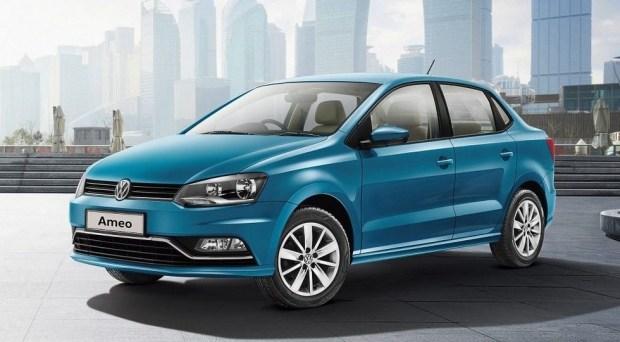 VW «прокачал» бюджетный седан Ameo