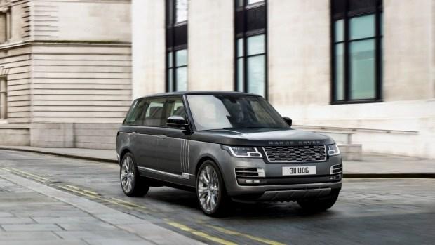 Вседорожный автомобиль Range Rover представлен всамой шикарной версии SVAutobiography