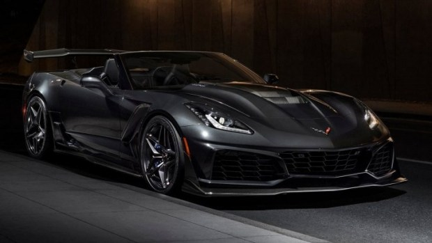 Кабриолет Chevrolet Corvette ZR1 Convertible 2019 модельного года