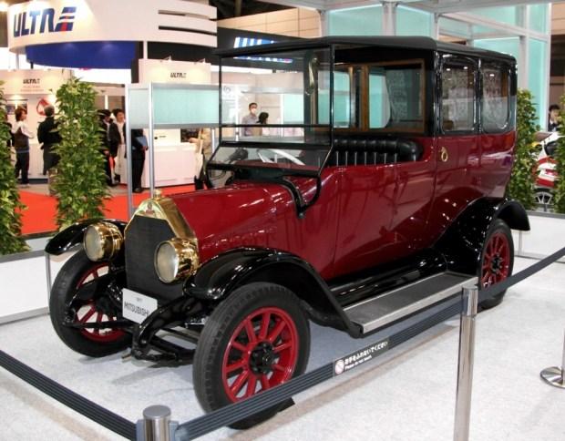 Оригинальный Mitsubishi Model A 1917 года