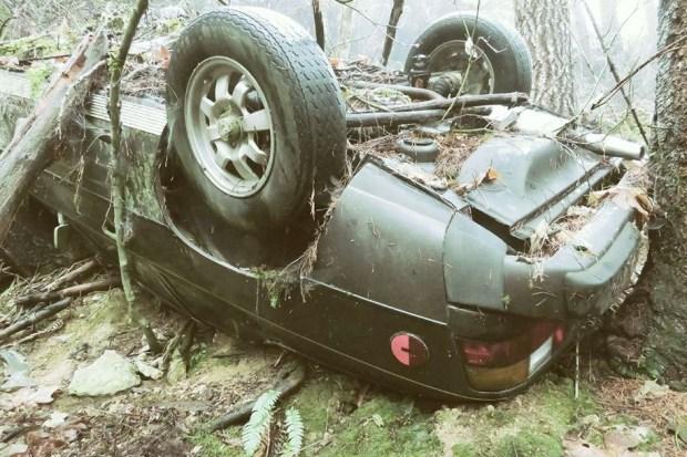 Угнанный переднемоторный Porsche случайно нашли через 25 лет