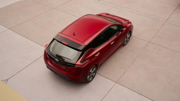 Nissan Leaf 2018 модельного года