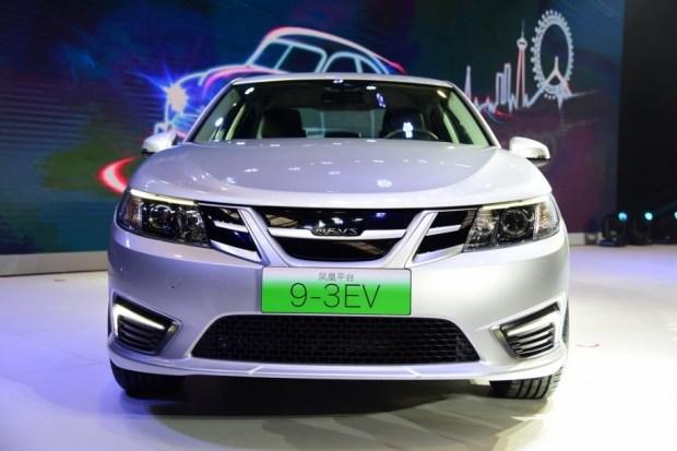 Компания NEVS показала электрический седан свнешностью Saab 9-3
