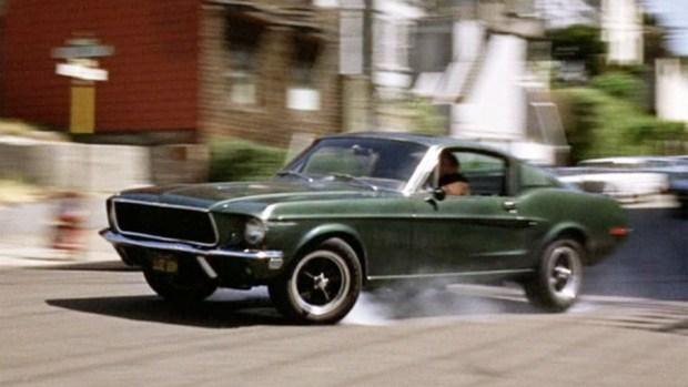 Mustang Bullitt из фильма 1968 года.