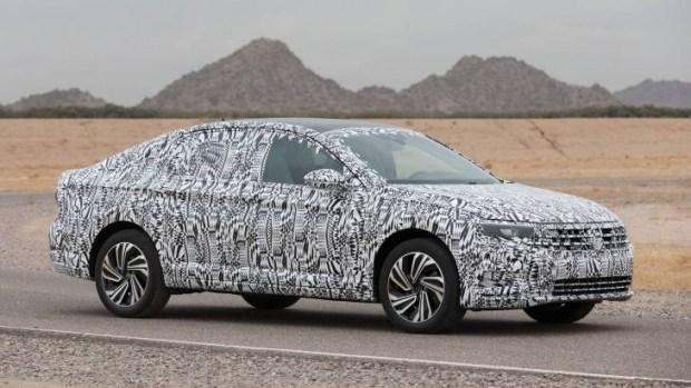 Стал известен дизайн нового VW Jetta
