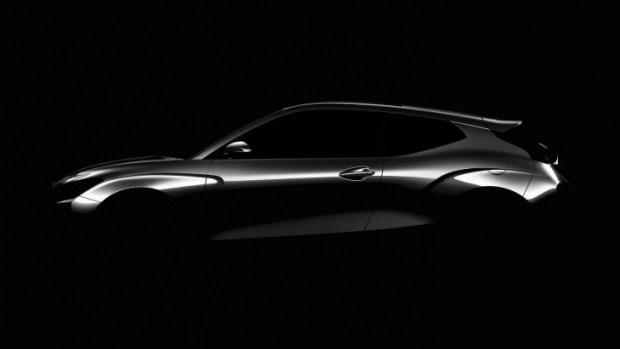 Официальный тизер нового Hyundai Veloster