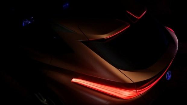 Тизер Lexus LF-1 Limitless Concept