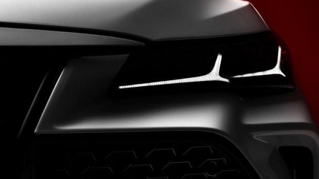 Официальный тизер нового седана Toyota Avalon