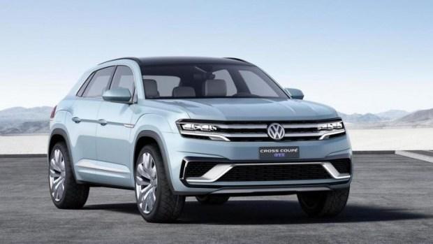 Фольксваген готовит новое кросс-купе набазе Tiguan