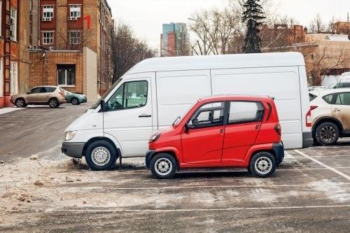 В государство Украину прибыла первая партия недорогих вмире авто