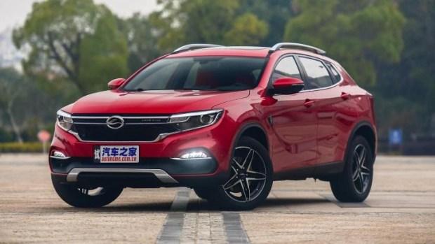 Китайская Landwind выводит на рынок «клон» Mercedes-Benz GLA