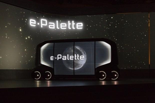 Беспилотная платформа Toyota E-Palette.