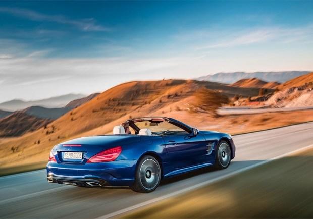 Mercedes-Benz SL текущего поколения
