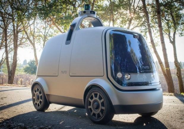 Бывшие профессионалы Google построили робофургон-курьер