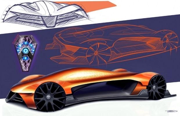 Работа победителя конкурса 2017 года. Задание — разработать дизайн будущей модели Dodge.