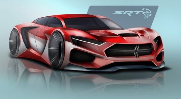 Дизайн «заряженной» модели Dodge от победителя конкурса 2016 года.