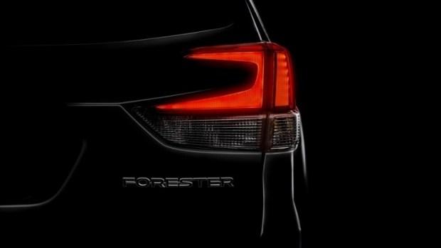 Официальный тизер внедорожника Subaru Forester нового поколения