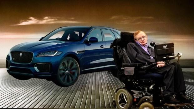Стивен Хокинг и автомобили – интересные факты из жизни легенды