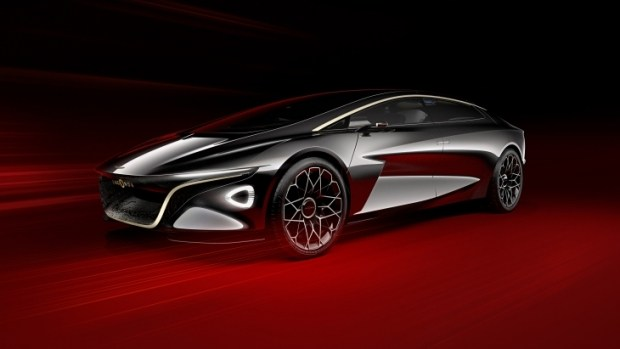 Концептуальный электрокар Aston Martin Lagonda Vision Concept