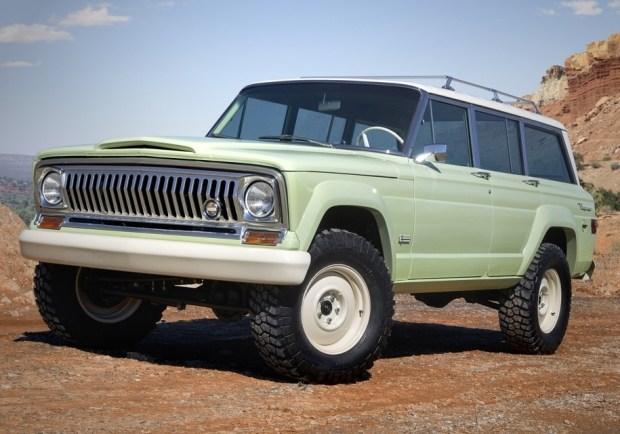 Под капотом Jeep Wagoneer установлен 5,7-литровый двигатель V8, сопряженный с пятиступенчатой трансмиссией.