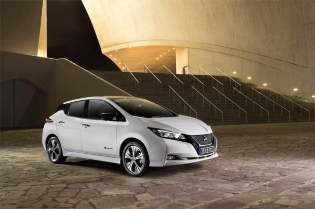Nissan Leaf второго поколения.